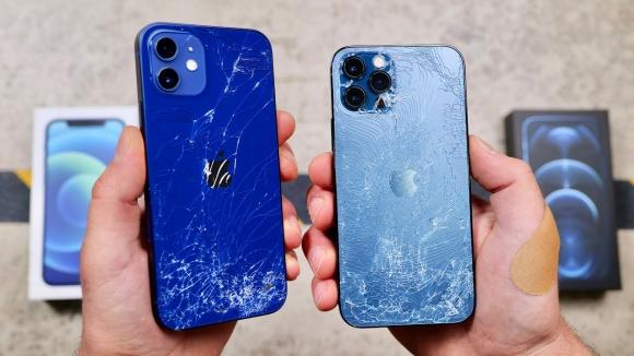 Dayanıklılığı ile övülen iPhone 12'ler düşme testinde!
