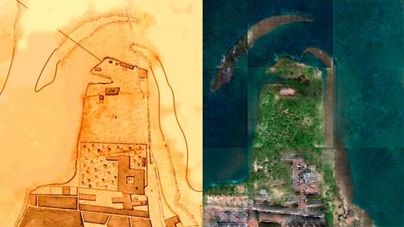 Eski haritalar uydu görüntülerine dönüştürüldü!