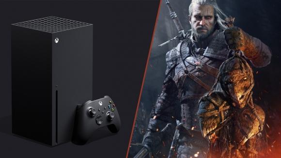 Witcher 3, Xbox Series X'de çalıştırıldı