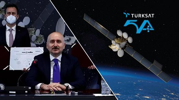 Milli Uydu Haberleşme Sistemi için imzalar atıldı